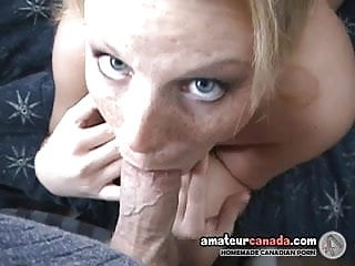 Stacy geek gets her face fucked on camera in POV blowjob