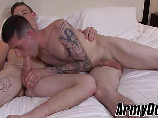 Sexy ass Scott getting his asshole rammed hard by James