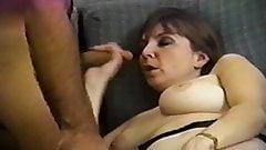 Female masturbating while sucking dick