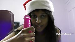 Xmas XXX Porn Indian Babe Horny Lily Christmas Special's Thumb