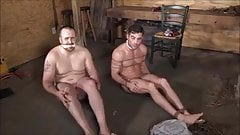 men in bondage