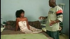 Ebony MILF banged hard