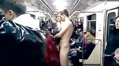 Naked Subway Riders