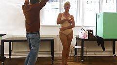 Barbara Schoeneberger White Body Human Cum Sponge Cameltoe