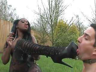 Mistress TTease - Smokin Black Domina