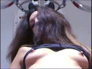 Angelina shows us her asshole FM14