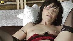 Naughty mom next door dreaming of hard cock