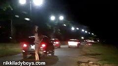 Nikki Ladyboys Street Whore