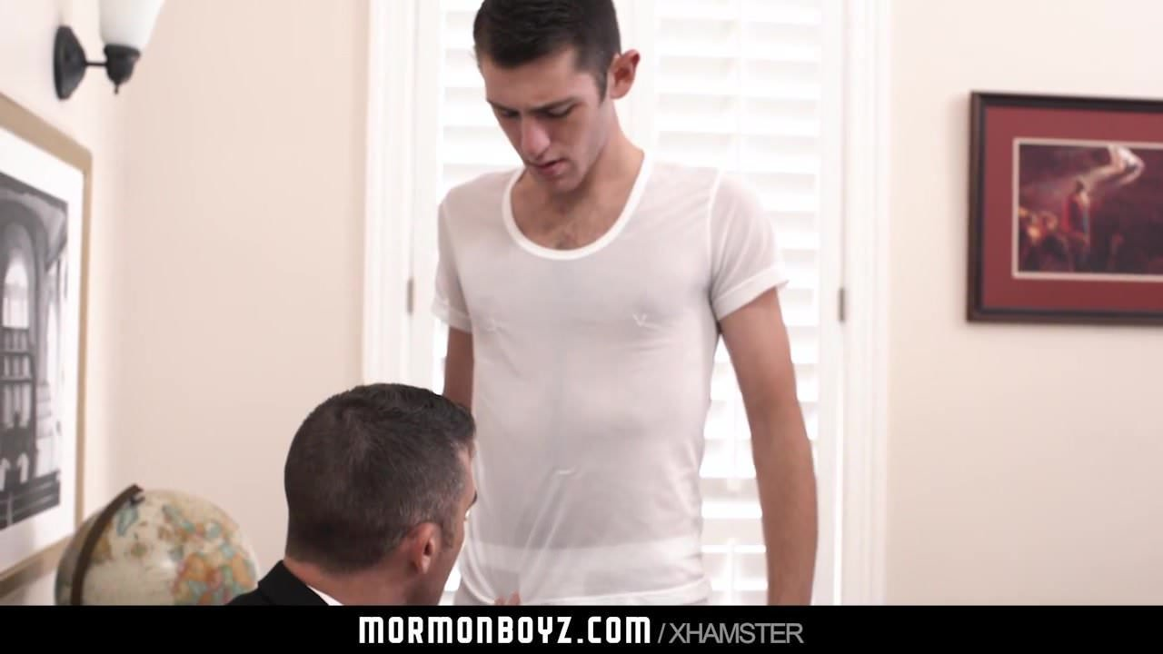 MormonBoyz – Good-looking priest chief will get fucked by younger boy