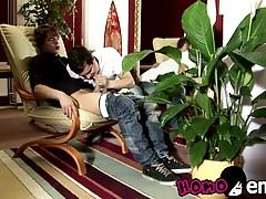 Lusty twink friends Ricco Luna and Mario Luna fucking raw