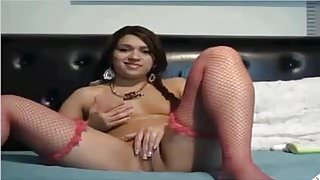 teen webcam's Thumb