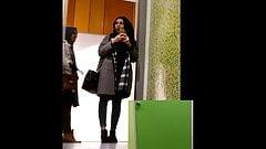 Hijab Teens filming wanker and gets filmed