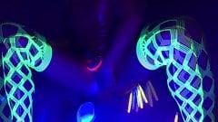 Glowing anal balls