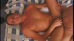 Shemale slut fucking and sucking cock