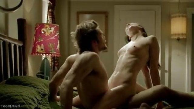 Naked goth couple fucking