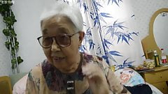 Asian 70+ granny