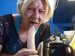Naughty Gigi - Wet and messy deep throat