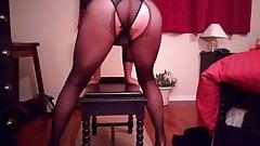 SL4UA Holly Leg and Pantyhose Tease Pt3