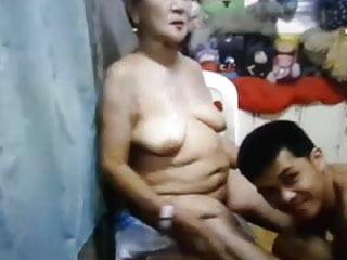 granny and boy at play 3