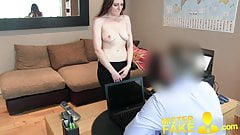 MisterFake Posh young British girl gets anal creampie casti