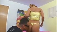 Georgia Peach - Hot Blonde Sucked Cock And Fucked