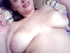 Big tits milf sucks and fucks