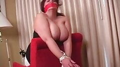 Elane Hershey bound and gagged and fucked 2