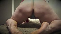 Chub Butt Riding Wife's Hairbrush