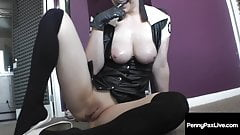 Nympho Nurse Penny Pax Sucks Off Her Hard Dick Patient!