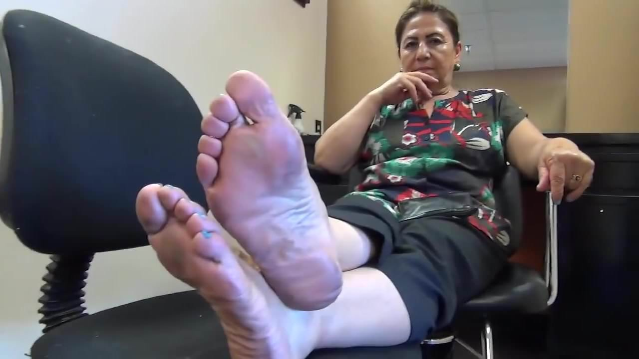 Bbw Mature Mexican Feet