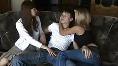 Teen Russian Threesome FFM Watch