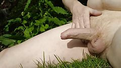 Outdoor Wank By The River