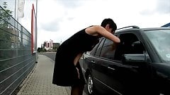 PARADISE FILMS German Milf pays ride with asshole