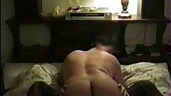 Fuckinjg my hot, sexy, hairy pussy wife.