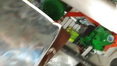 UPSKIRT FERRETERIA CASADA BUEN CULO
