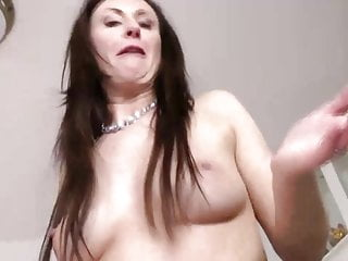 MAture slut gets fucked from behind by her younger stud