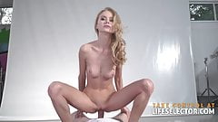 Lesbian beauty contestant Nancy is willing to get fucked by 's Thumb