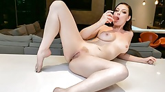 Massage Rooms Standing 69 with petite naughty Czech nymph