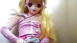 kigurumi princess wanking