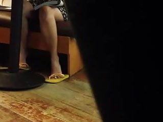 Philippine voyeur - Candid shoeplay flip flops in philippines