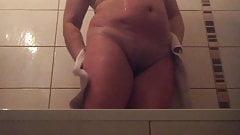 not Mother in law in bath Hidden Cam