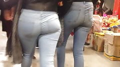 Big ass in jeans, gordibuena con culote