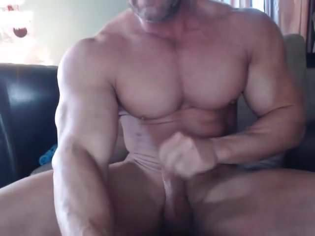 gay muscle porn clip: Muscle Brad Edges Jerks & Cums on Cam, on hotmusclefucker.com
