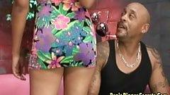 Big Ass Ebony Get Bang And A Cum Shot
