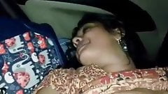 Mallu girl sucking cock in car