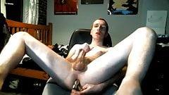 A Little Ass Stretching!