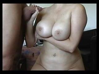 Daniela Babileck loves a good cumload on her Big Boobs