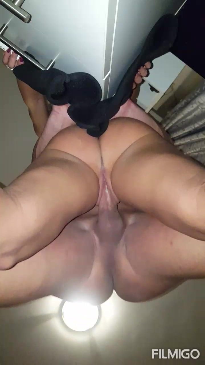 She loves anal orgasm and creampie