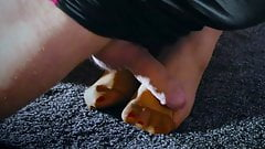 The next date with the secretary's feet