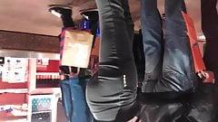 Hot leggins ass